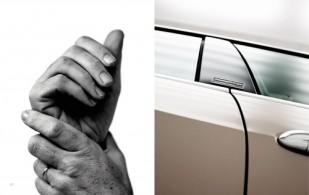 Hände von Bildhauer Arnaud Rivieren