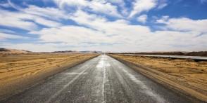 Trans-Sahara Highway in Algerien