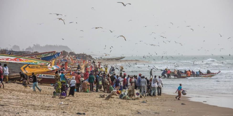 Fischer im Senegal