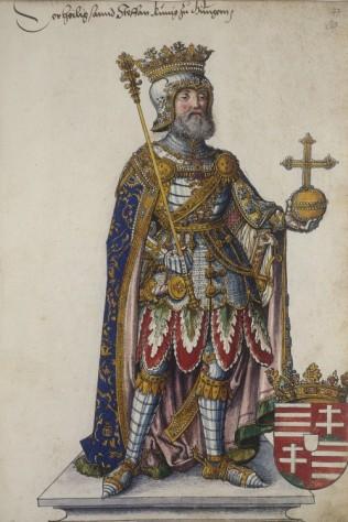König Stephan von Ungarn
