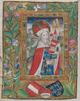 Heiliger Leopold Gebetbuch für Kaiser Friedrich III. (1415–1493) Handschrift Wien, um 1470/90