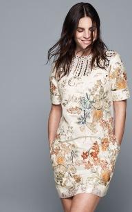 Julia Restoin Roitfeld in H&M