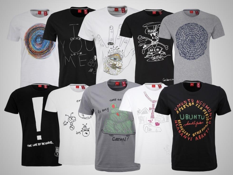Chemical Brothers, Wladimir Klitschko, Pierce Brosnan, Slash, Daniel Craig, Samuel L. Jackson, Pharell Williams, Pink, Moby oder den Foo Fighters (im Uhrzeigersinn)