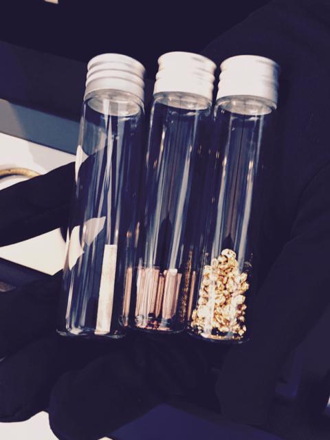 Die Zutaten zum Sedna-Gold von Omega (von rechts): Gold, Kupfer und Palladium © J-ww