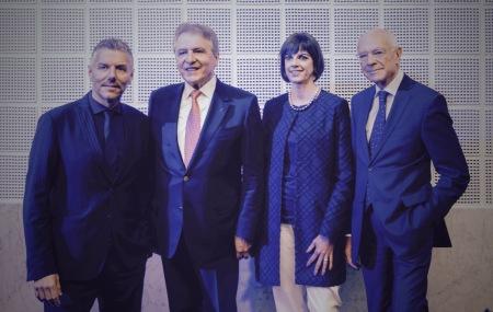 Rene Kamm, Francois Thiébaud, Sylvie Ritter, Eric Bertrand